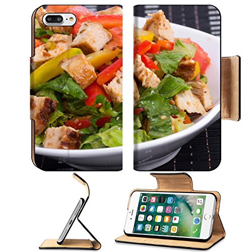 Blossom Vegetable Bowl - Luxlady Premium Apple iPhone 7 Plus Flip Pu Leather Wallet Case iPhone7 Plus 30817690 roasted chicken summer salad with vegetables