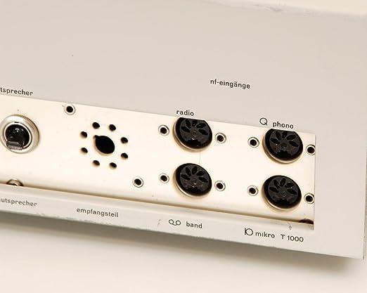 Marrón CSV 13 Amplificador Tubo: Amazon.es: Electrónica