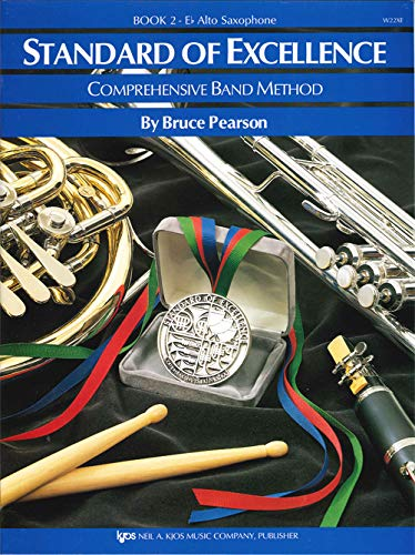 Standard of Excellence: Comprehensive Band Method: Eb Alto Saxophone Book -