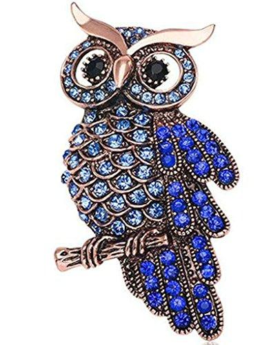 Gnzoe Jewelry, Men Women Brooch Rhinestone Animal Shape Bridal Wedding Brooch Pins Bride For Wedding - Frames Gold 14k Eyeglass