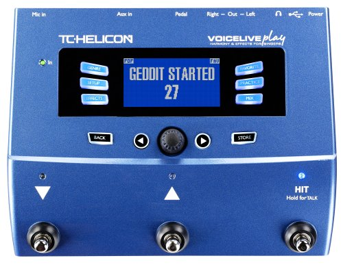 TC Helicon Voice Live Play Vocal Effects Processor by TC-Helicon
