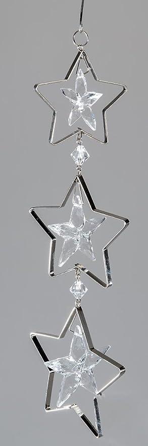 Dekohänger /'Stern/' aus Porzellan 13 cm