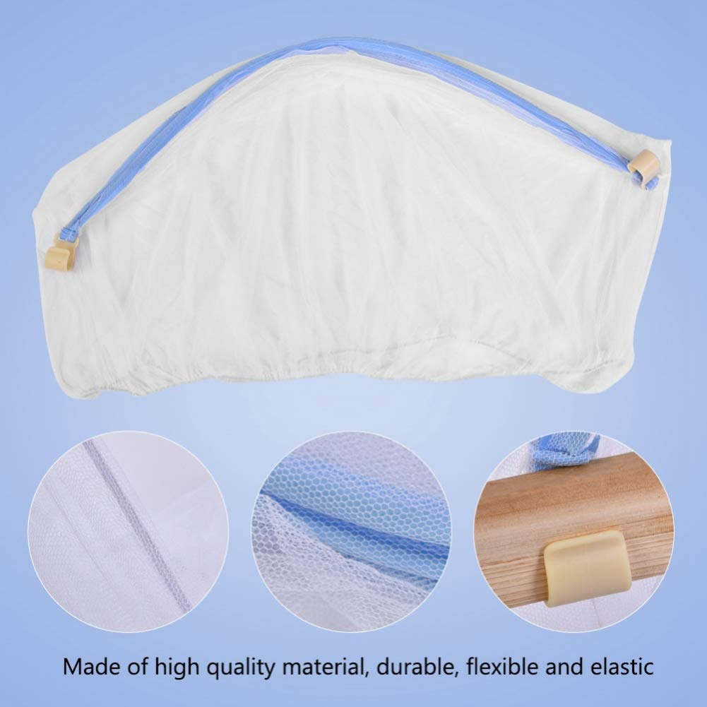 Baby Crib Cot Bed Cradle Mesh Mosquito Net Arched Tent Infant Canopy   UK!