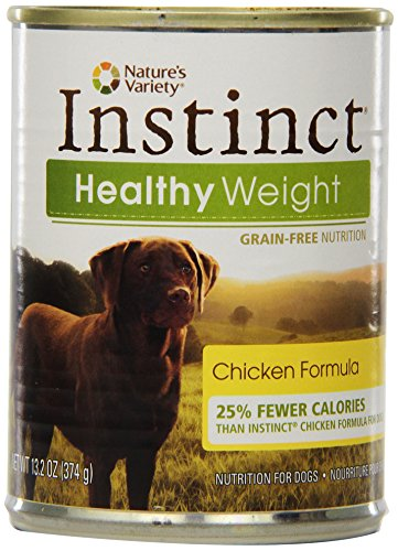 Instinct Grain-Free Healthy Weight Chicken Formula Canned Dog Food, 13.2 Oz (Case Of 12)