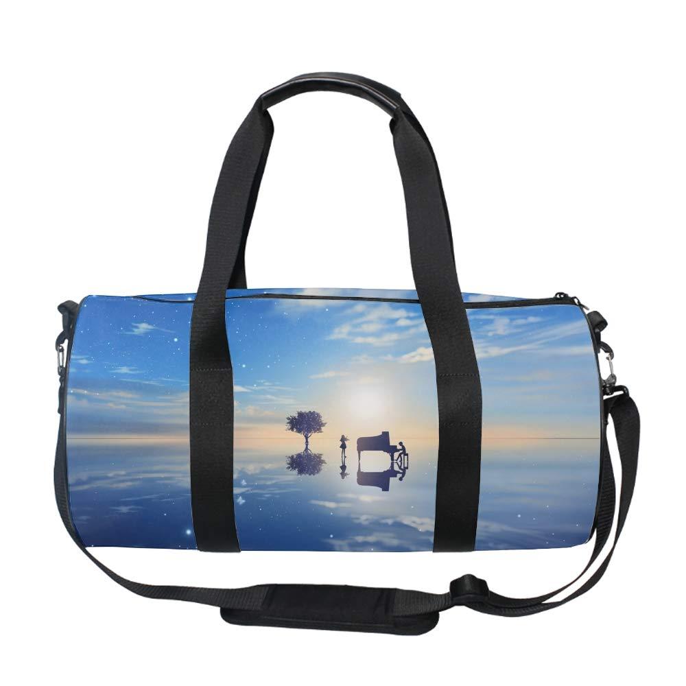 Christmas Balls Weekender Bag Travel Duffel Bag for Weekend Overnight Trip