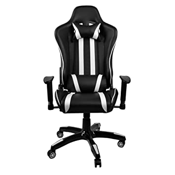 leather swivel office chair. BigTree Reclining Computer Desk Chair, LOL Racing Gaming Chair PU Leather Swivel Office Recliner