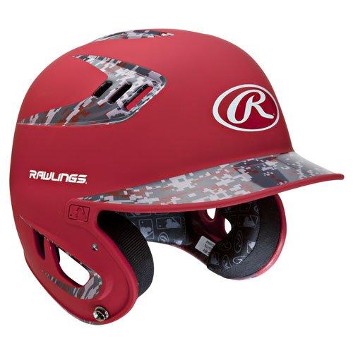 Rawlings 80 MPH Two Tone Matte with Digi Camo Batting Helmet