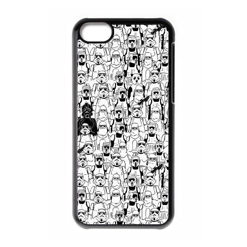 Le Panda Awakens BB81WR6 coque iPhone Téléphone cellulaire 5c cas coque W5VM6K1DH