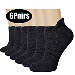 About us and our athletic running socks: We have always been dedicated on designing the most comfortable socks for you to enjoy the sport.Made of high quality and durable long-staple combed cotton to make your feet feel soft and breathable.MAIN FEATU...