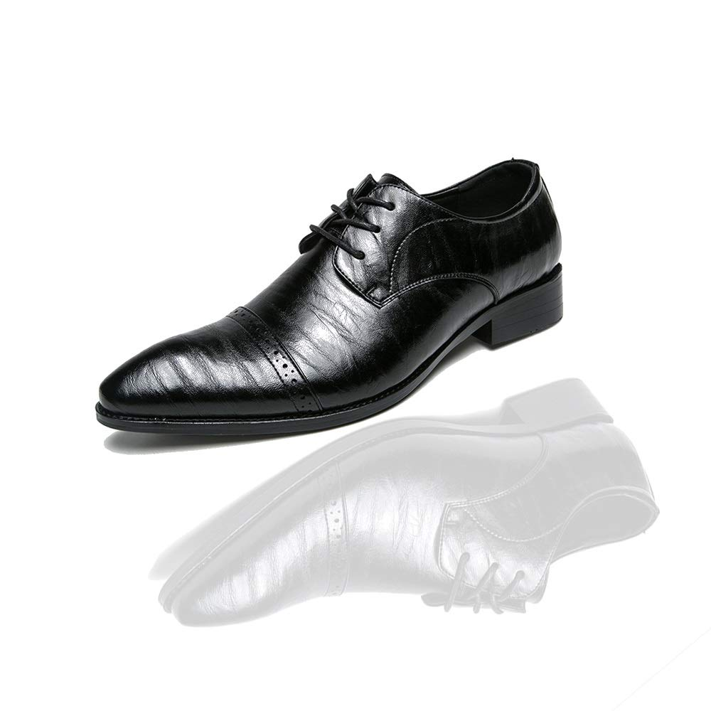 Max_ZP 2019 Nuevo Hombre Zapatos De Encaje Oxford Altura Creciente ...