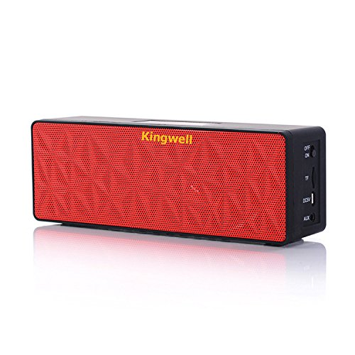 kingwell-n16-cubic-touch-screen-wireless-portable-bluetooth-speaker-red