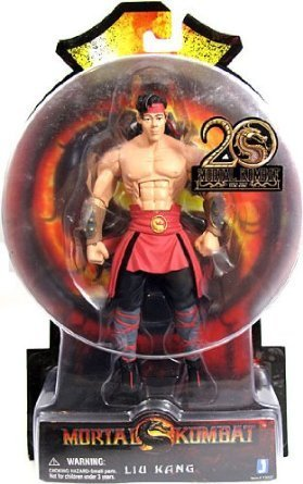 Liu Kang Mortal Kombat 9 Action Figure (6 Inch) by Animewild