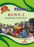 BSWE1 Introduction to Social Work (Theory) IGNOU Help book guide by Expert Panel of Neeraj Publications (English Medium)