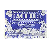 Act II Butter Lovers Microwave Popcorn 30 78g Bags