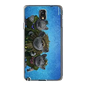 MansourMurray Samsung Galaxy Note3 Protector Hard Phone Covers Allow Personal Design Nice The Jungle Book Pattern [SPY18700vLXs]