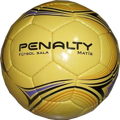 Penalty Matis 500 III - Balón de fútbol Sala, Color Amarillo, 62 ...
