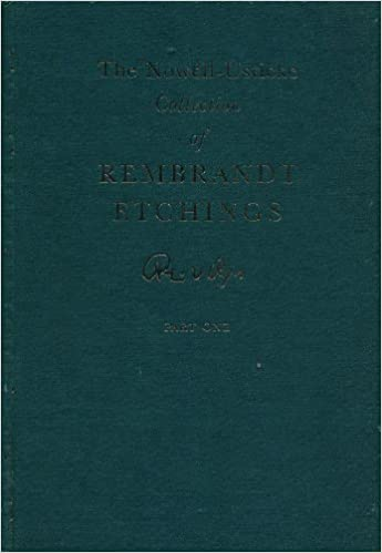 the distinguished collection of rembrandt etchings formed by gordon w nowell usticke two volume set