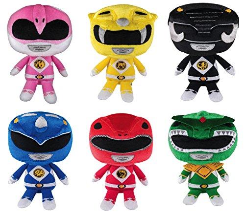 Funko Hero Plushies Mighty Morphin Power Rangers Plush Set of 6 Toy Figures