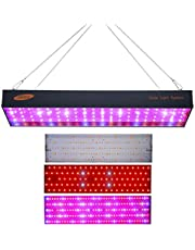 Mainstayae 1000W LED Grow Light LED Panel Grow Light for Hydroponic Greenhouse Indoor Plant Flower Vegetative Growth