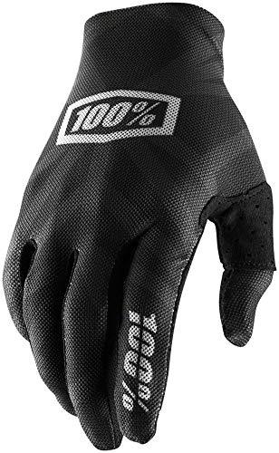 100% Celium 2 Men's Off-Road Motorcycle Gloves - Black/Silver/X-Large ()