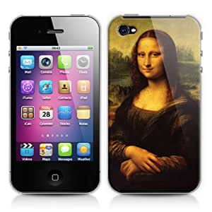 Caso duro para Apple iPhone 4/4s - Mona Lisa