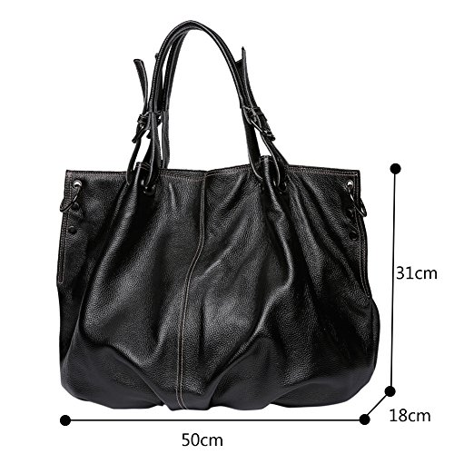 Capacity Genda Large 2Archer Bag Women Shopper Messenger Leather Handbag atqCwtA