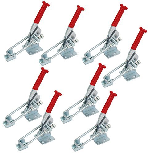 EbuyChX 318Kg Holding kapasidad sink tubog U-Hugis Clamping Bar Toggle Mga Pang-ipit GH-431 8pcs