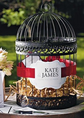 Classic Round Decorative Birdcage Black