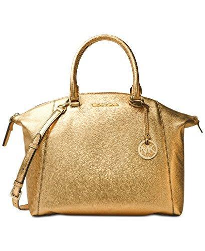 Michael Kors Gold Handbag - 8