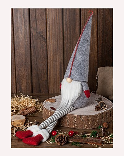Handmade Christmas Gift - Handmade Swedish Tomte Christmas Gnome - Christmas Ornaments Gifts Holiday Home Table Decor
