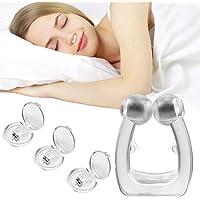 Snarkstoppare, cayenne anti-snarkningsanordningar 3 delar snarkningsklämmor anti-snarkning hjälper näsan att sova apné…