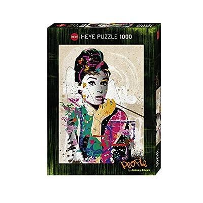 Heye 29684 Audrey Puzzle 1000 Pezzi