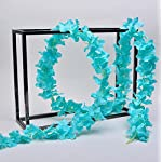 hilingo-32-Feet-Artificial-Silk-Wisteria-Flowers-Vine-Ivy-for-Home-Plant-Decor-656Feetx-5Pcs-tiffany-blue