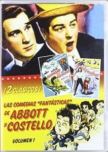 """Las Comedias """"Fantasticas"""" De Abbott Y Costello, Vol. 1 [DVD]"""