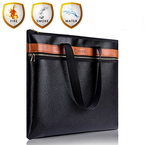 Fireproof safe Document Bag