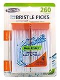 DenTek Deep Clean Bristle Picks Dual Ended, Mint 260 ea (Pack of 3)