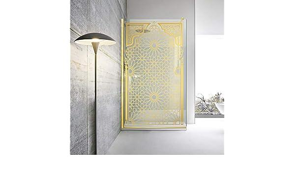 Modern Glass Art Leroy Timeless Mashrabiya - Mampara de ducha (8 ...