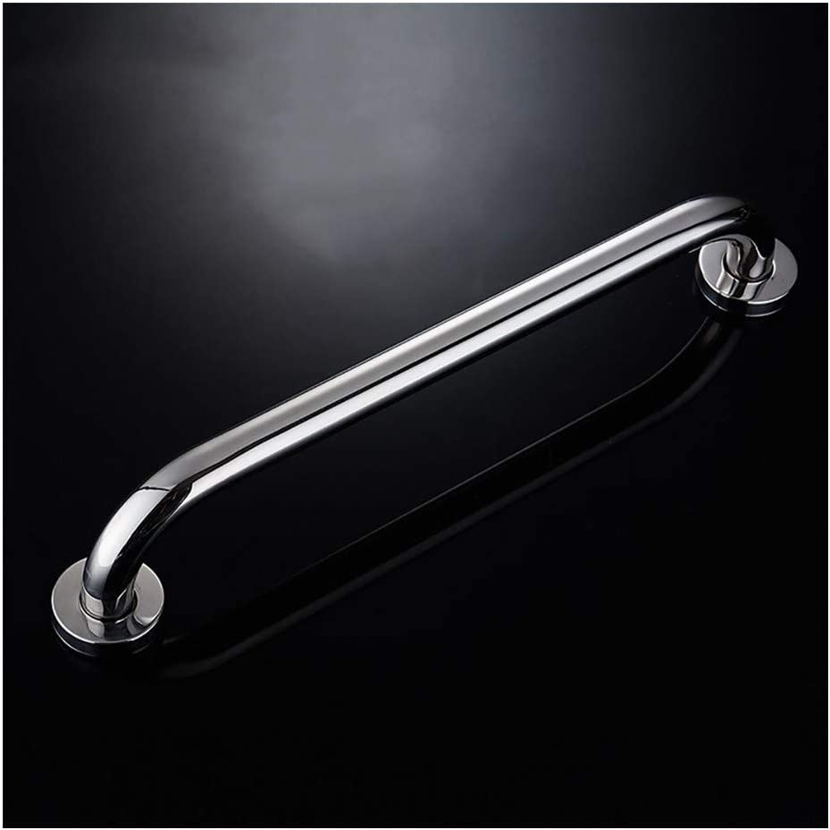 Bathroom safety rails 304 stainless steel handrails bathroom handrail non-slip safety handle toilet toilet slip railing disabled elderly (Color : 55cm)