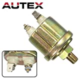AUTEX Oil Pressure Sender/Pressure Sender/Pressure Transmitter compatible w/VDO Type 0-80 Psi