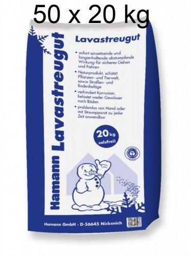 Hamann Lavastreugut 1000 kg 50 x 20 kg F/ür einen sicheren Halt unmittelbar nach der Ausbringung