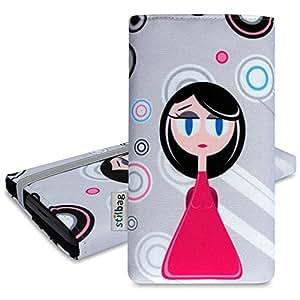 Stilbag Funda 'MIKA' para Apple iPhone 5s - Diseño: Pink Lady