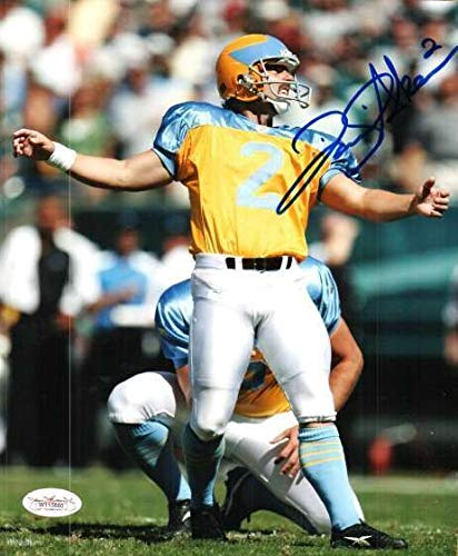 Autographed Signed David Akers 8x10 Photo Philadelphia Eagles - Certified Authentic