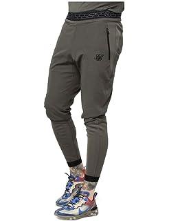 Sik Silk Pantalon Pursuit Pants Gris Hombre L Gris: Amazon.es ...