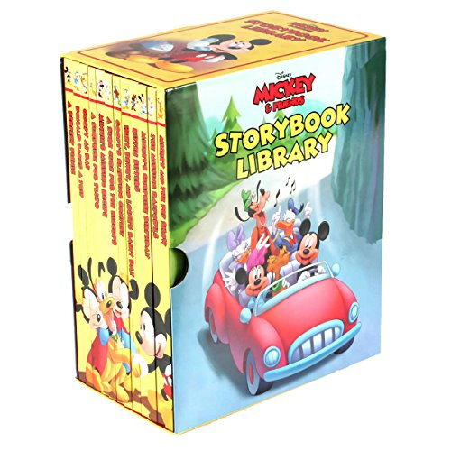 (Mickey and Friends Storybook Library: 12 Book Box Set)