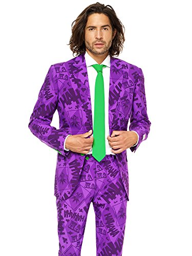 Mens The Joker Suit and Tie By Opposuits,The Joker,50 -