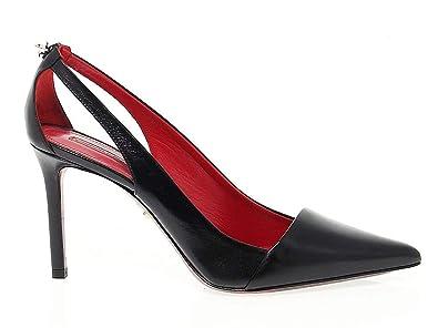 plutôt cool factory nouvelle arrivee Cesare Paciotti Femme PAC204485 Noir Cuir Escarpins: Amazon ...