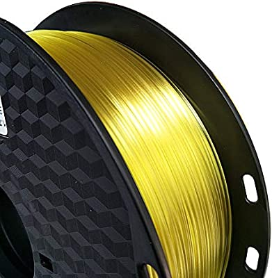 Filamento para impresora 3D de 1,75 mm, filamento PETG, amarillo ...