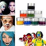 Paleo Flash Color Safe Face Body Paint Oil Painting Art Makeup Kit Halloween Party