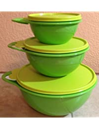 Bargain Tupperware Mixing Thatsa Storage Bowl Set of Three 2 / 6 / 12 Cup discount