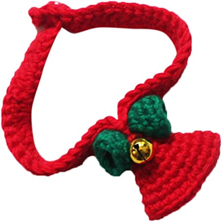 collier pour chat au crochet